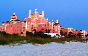 St Petes Beach - Don CeSar Hotel