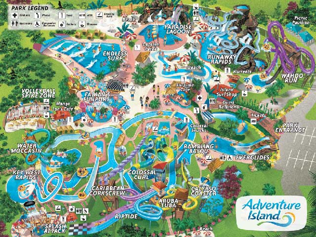 Florida Attractions Guide – Travel Map Of Florida
